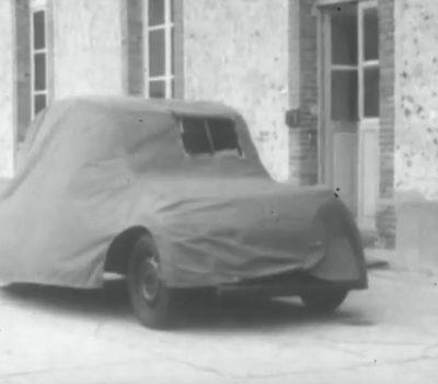 1948 Vorstellung des CITROËN 2CV