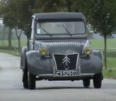 1959: Ankurbeln und Fahren