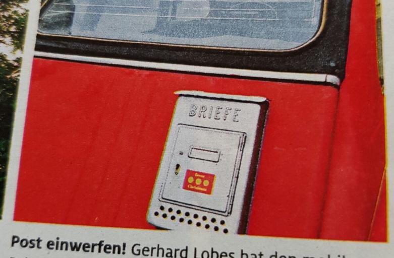 Briefkasten-Ente